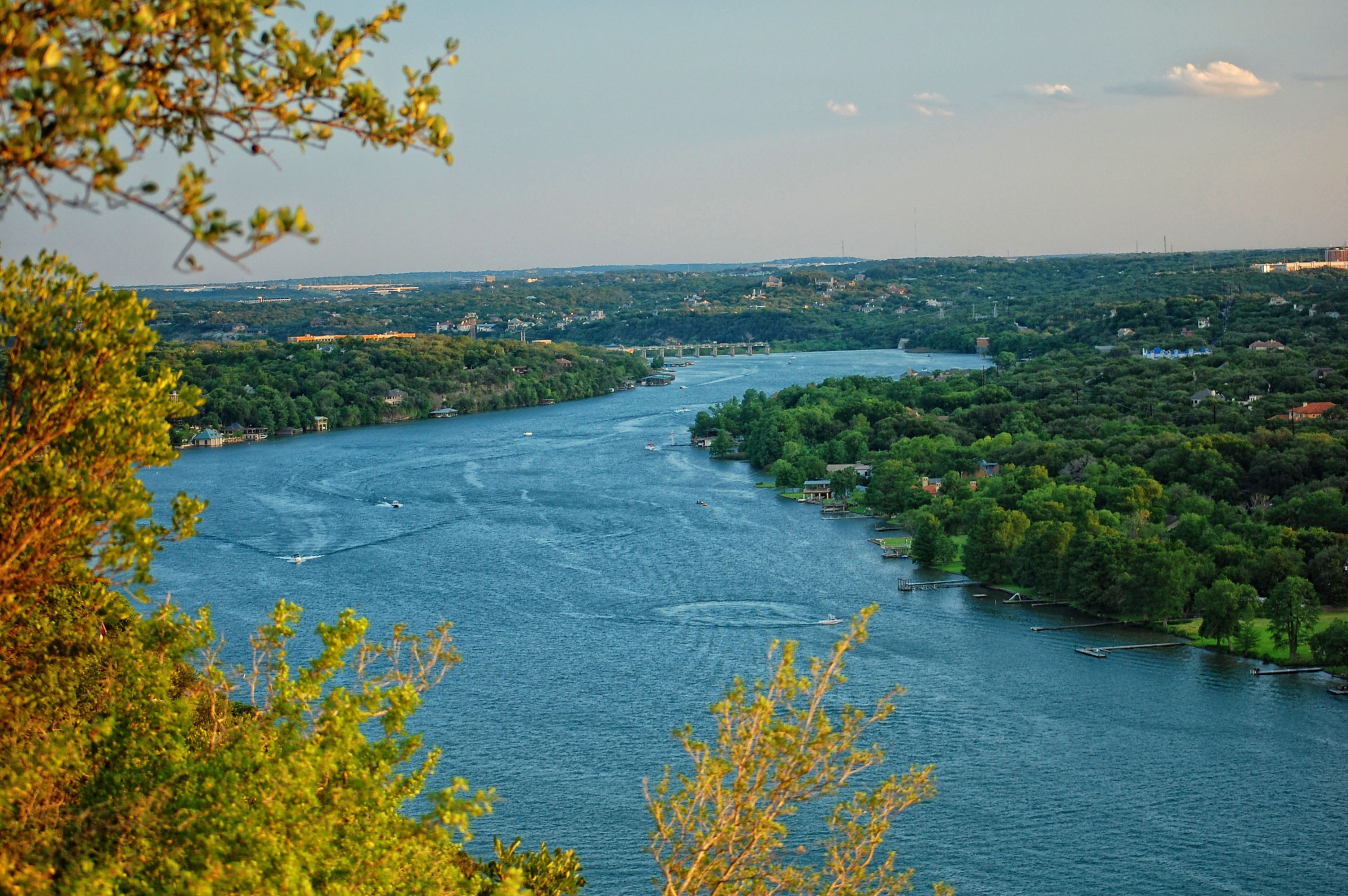 mt bonnell in the evening