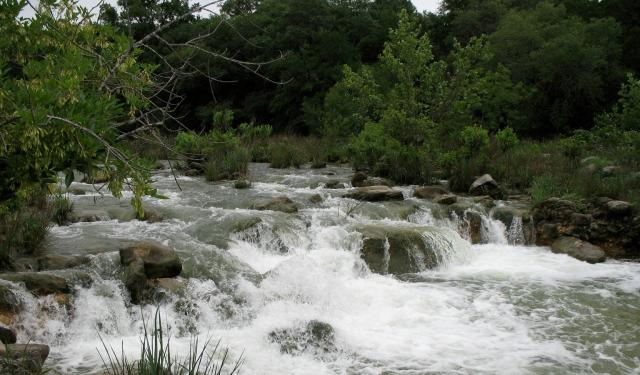 Waterfall on Barton Springs, Austin, Texas