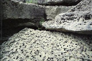 Karst limestone