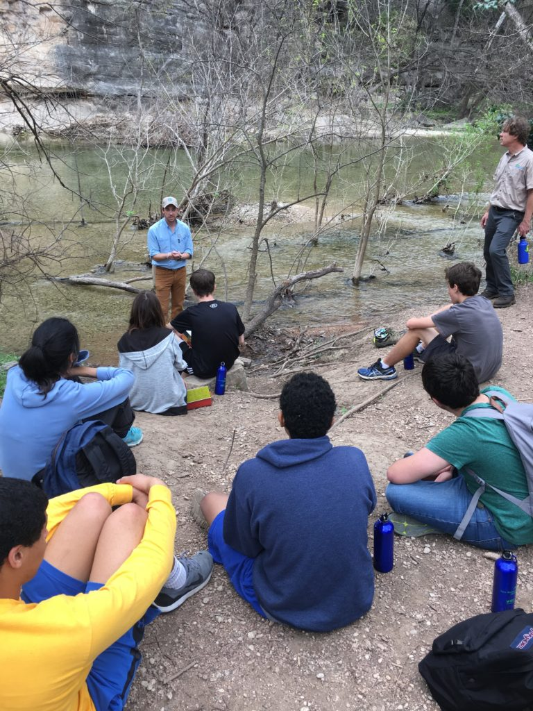 Speaking at Barton Creek