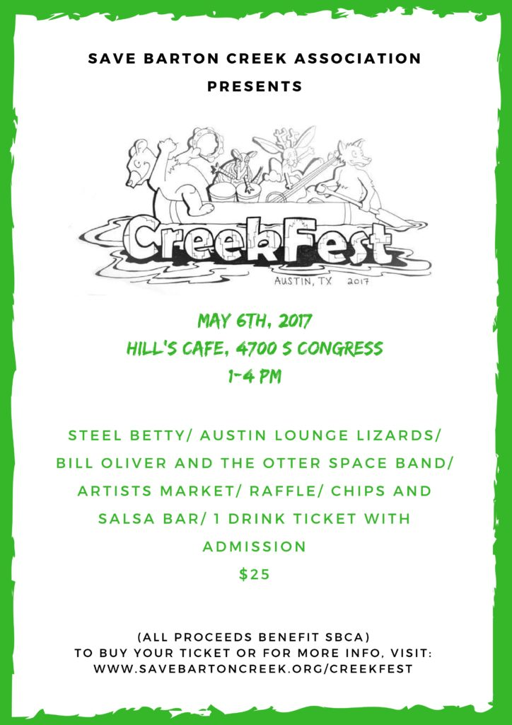 CreekFest Poster