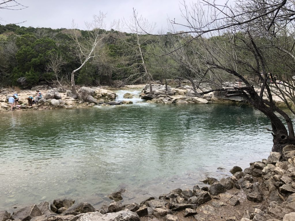 Barton Creek in the Winter